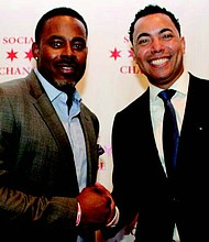 Todd Belcore and Lamman Rucker on the Red Carpet. Photo: Melanie L. Brown