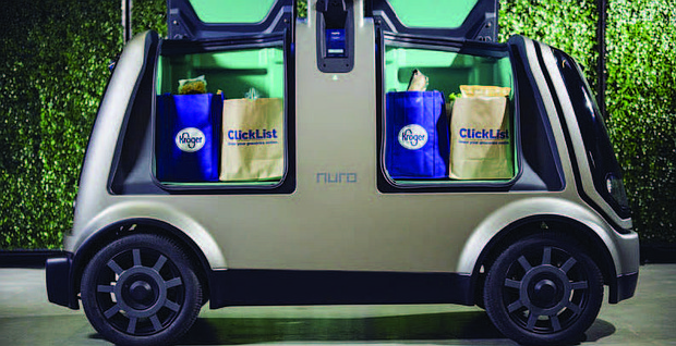 Kroger and Nuro Launch Partnership