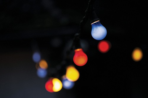 Summer nights can be made sweet with lights that set a mood for your yard, porch or patio.