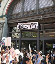 Immigration Rally in Manhattan