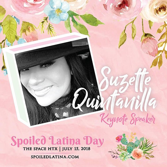 "Yvonne Guidry hosts her 3rd annual ""Spoiled Latina Day"" with Suzette Quintanilla serving as the keynote speaker."