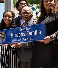 Family and friends remember NYPD Detective Miosotis Familia