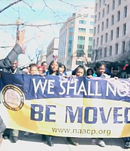 NAACP Youth and College Division at the March for Our Lives Rally