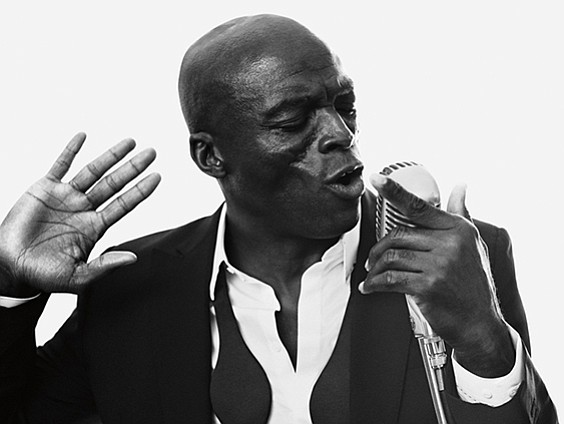 British pop singer Seal shared a surprising tidbit the other night at his amazing concert at New York City's Beacon ...