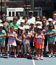 The Harlem-Junior Tennis Program
