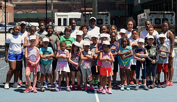 Young tennis players get the opportunity during the week, Monday through Friday in Harlem and in the Bronx, to not ...