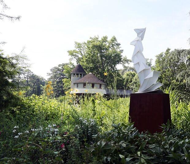 'Origami in the Garden' at Lewis Ginter Botanical Garden