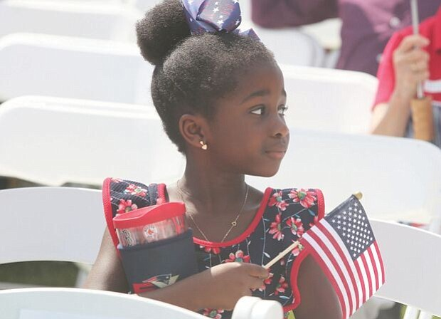 Celebrating a new American-
