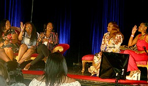 A multitude of successful Black female entrepreneurs gathered to host workshops solutions to discuss issues many minority entrepreneurs face during the Inspire U Fest at the Quixotic World, June 2.