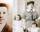 Joseph Laroche and his family