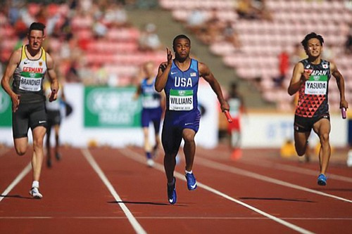 Congratulations to Benson High School's Micah Williams who ran the anchor leg to propel Team USA to its first gold ...