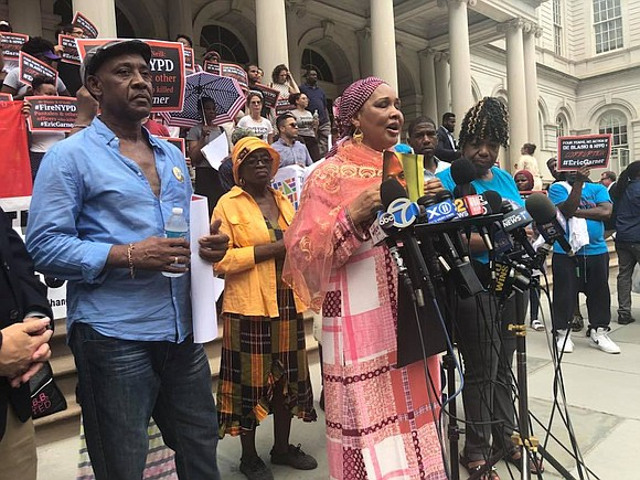 Amadou Diallo's mother, Kadiatou, held back tears, as she talked with PIX11's Jennifer Bisram on the 20th-year anniversary of her ...