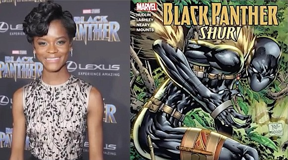 Marvel Entertainment is preparing to launch a new comic book series centered around T'Challa's sister, Shuri, months after the character ...