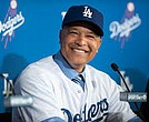 The Los Angeles Dodgers' Dave Roberts is the only African-American manager in Major League Baseball.