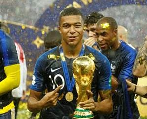 There's a festive spirit in France after its second World Cup final in 20 years. For the decisive game, fans ...