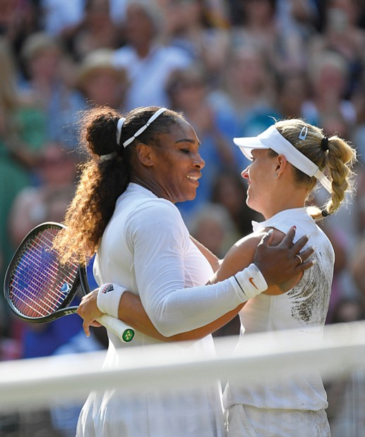 """Tennis star Serena Williams said the latest chapter in her sports career is """"just beginning"""" after seeing her hopes of ..."""