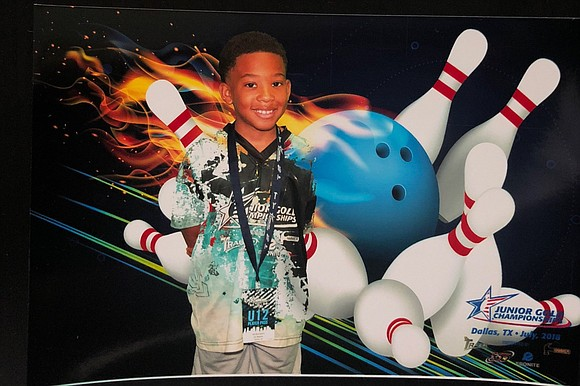 Jos Weems is eight years old competing in the 12 and Under Boys (U12B) Junior Gold Championships bowling division. The ...
