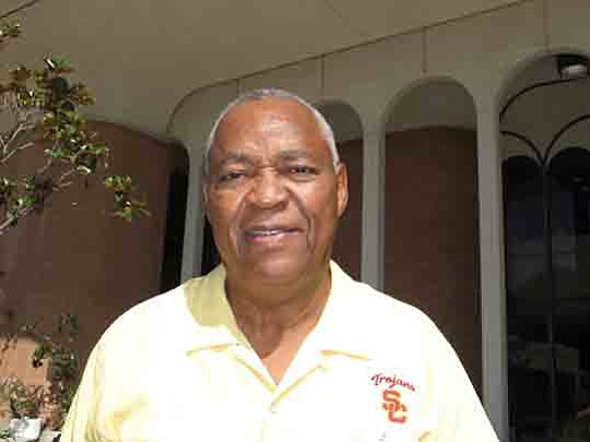 Willie Brown, who was a player and assistant coach on Trojan national championship..