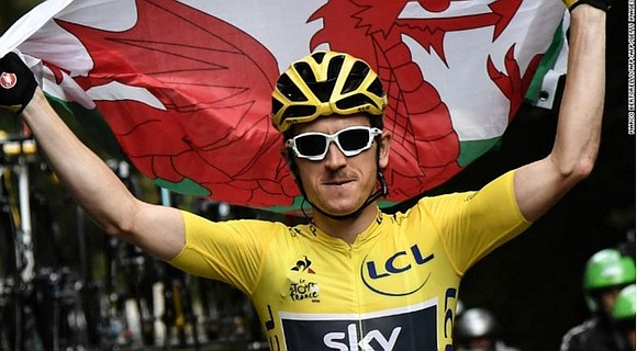 Gareth Bale, Sam Warburton and now Geraint Thomas. Three sporting greats, Welshmen who have created history and, astonishingly, world stars ...