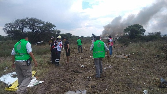 A strong wind gust brought down an Aeromexico plane carrying 103 people in northern Mexico, leading to a fiery crash ...