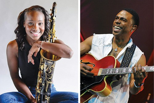 Jazmin Ghenty (left) and Norman Brown.
