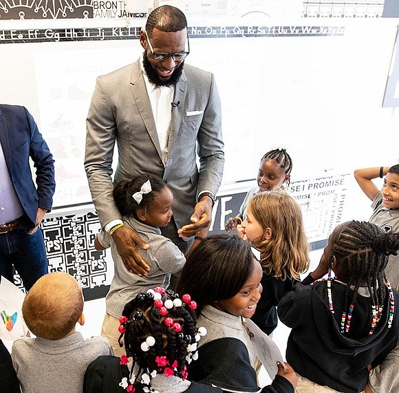 "By launching his new school, LeBron James is choosing to not just ""shut up and dribble,"" but rather to give ..."