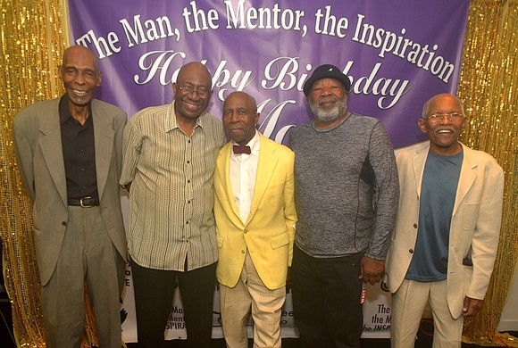 Family and friends gathered last Friday at the National Black Theatre in Harlem to help celebrate the 80th birthday of ...