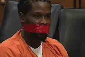 A judge in Cuyahoga County, Ohio, ordered court officials to tape a defendant's mouth..