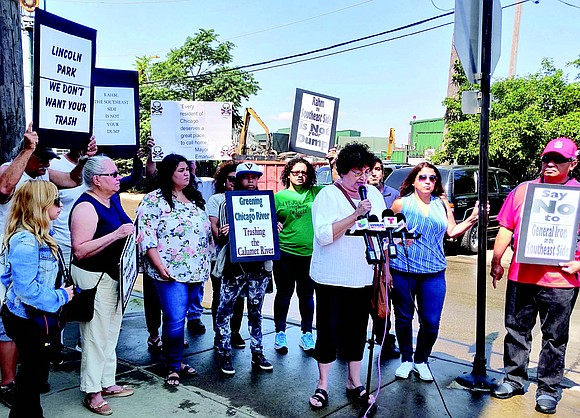 Residents of the southeast side of Chicago along with several environmental activists recently held a protest outside of General Iron's ...