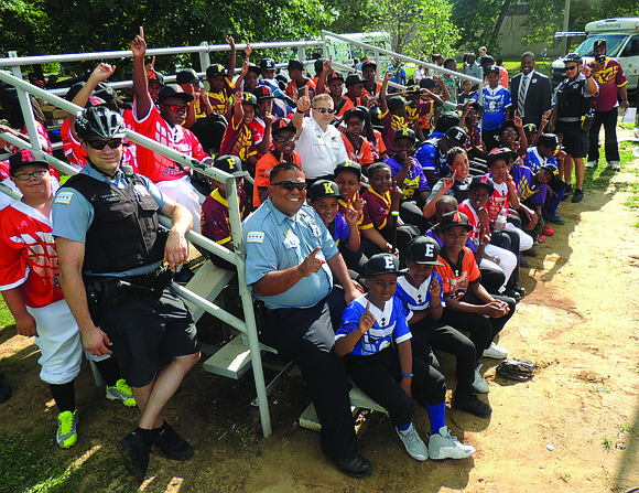 Members of the Chicago Police Department recently acted as coaches for young baseball players, from Austin, Englewood, and North Lawndale ...