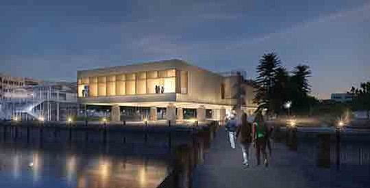 Charleston's planned International African American Museum, which has been in the..