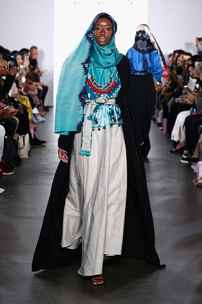From Jakarta, Indonesia, fashion designer Vivi Zubedi presented an elegant collection at New York Fashion Week.