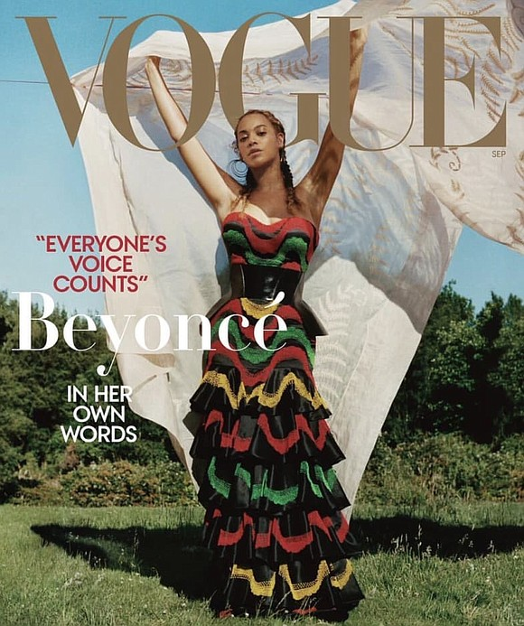 Beyoncé said it herself, in her own words, while reflecting on her historic Vogue cover and spread.