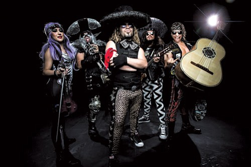 "Billed as the ""World's First and Only Heavy Metal Mariachi Band,"" Metalachi will bring their unique.."