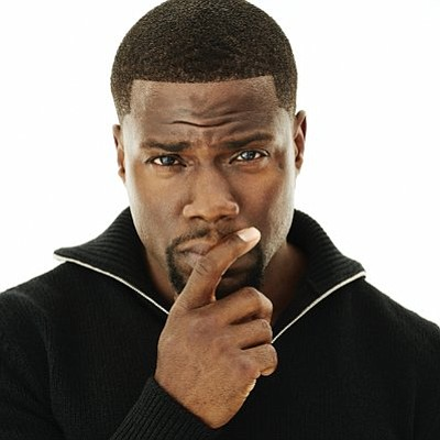 Comedian and actor Kevin Hart has heart....