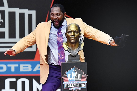 One of the greatest leaders football has seen, Ray Lewis, used his Pro Football Hall of Fame induction speech last ...