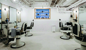Blind Barber at Moxy Times Square.