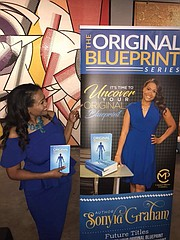"Author Sonyia Graham's ""A Night at the Gallery"" Book Launch Soirée event held at BellaVetro Mosaic Art Gallery"