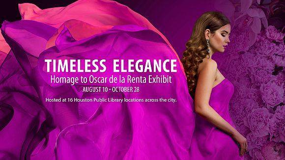 Fashion enthusiasts are invited to view the fashion exhibit, Timeless Elegance: Homage to Oscar de la Renta, which showcases winning ...