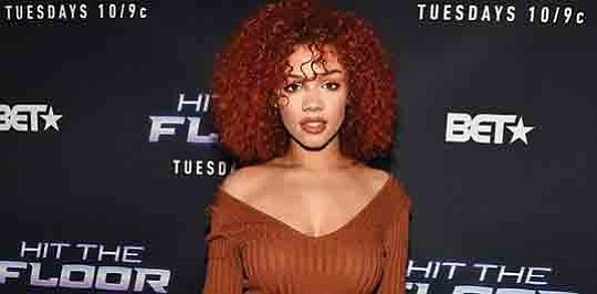 """BET's hot summer show """"Hit the Floor"""" features Kyndall Ferguson, who is a second-generation.."""