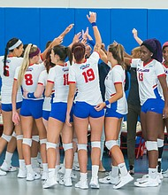 The St. Francis Brooklyn Terriers women's volleyball team kick off play Aug 24