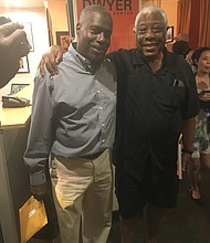 Woodie King Jr. with Juney Smith