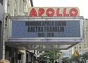 Apollo Theater pays homage to Aretha Franklin