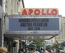 Apollo Theater pays homage to Aretha Franklin