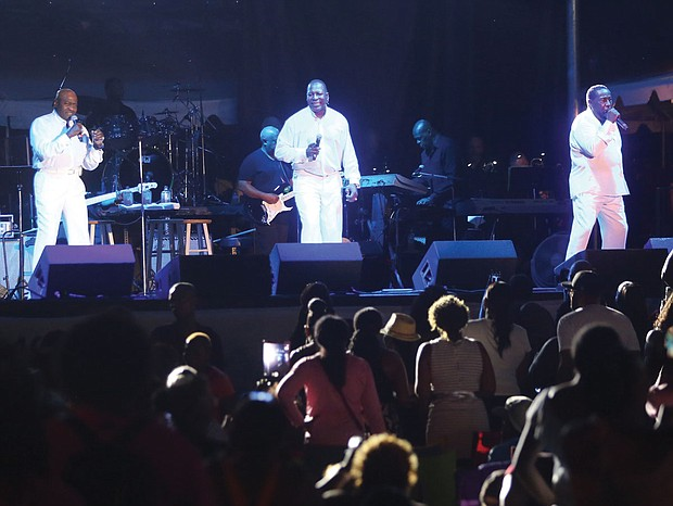 The 9th Annual Richmond Jazz Festival at Maymont last weekend. The O'Jays close out Saturday night's schedule with their crowd-pleasing old school sounds.