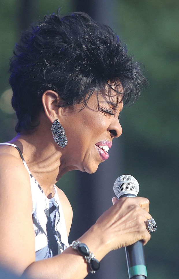 The 9th Annual Richmond Jazz Festival at Maymont last weekend. On Saturday, Gladys Knight shows the crowd that she still has it.