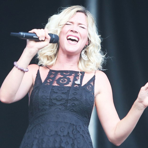 The 9th Annual Richmond Jazz Festival at Maymont last weekend. On Saturday, 31-year-old English singer and actress Joss Stone hit the high notes.
