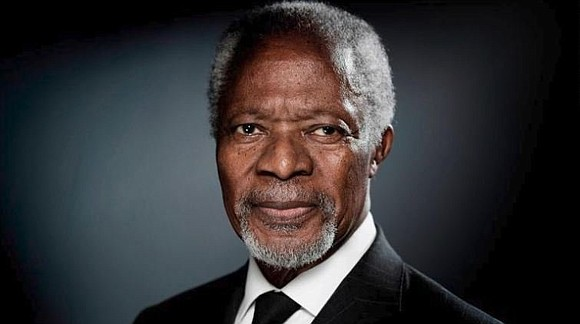 Kofi Annan, the first black African to lead the United Nations, has died at age 80. He served as Secretary-General ...