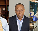 Gary S. May (Courtesy of Georgia Tech College of Engineering), Gabriel C. Ejebe (Courtesy of National Academy of Engineering), Lynden Archer (center) (Courtesy Cornell University)