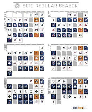 Astros Release 2019 Schedule | Houston Style Magazine